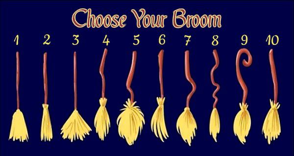 Pick Your Broom and Discover What Kind Of Witch You Are!