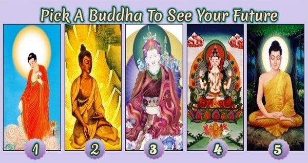 Pick A Buddha Card To See Your Future And Receive A Buddha Message