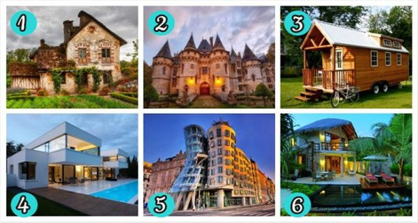 Pick Your Dream House And See What It Reveals About Your Personality