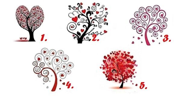 Find The Love Of Your Life By Selecting One Love Tree