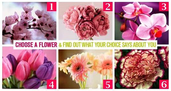 Your Favorite Flower Says A Lot About You!