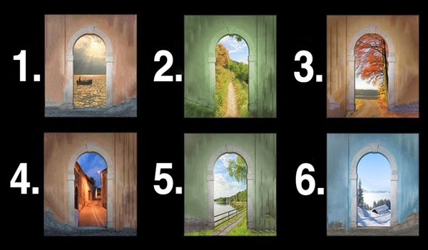 Your Favorite Door Reveals A Lot About Your Future