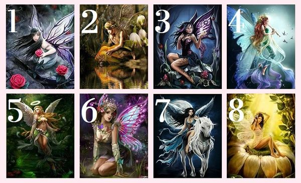 Pick Your Favorite Fairy to Uncover a Positive Message
