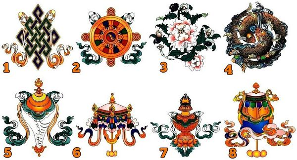 Pick Your Favorite Tibetan Symbol Of Good Fortune