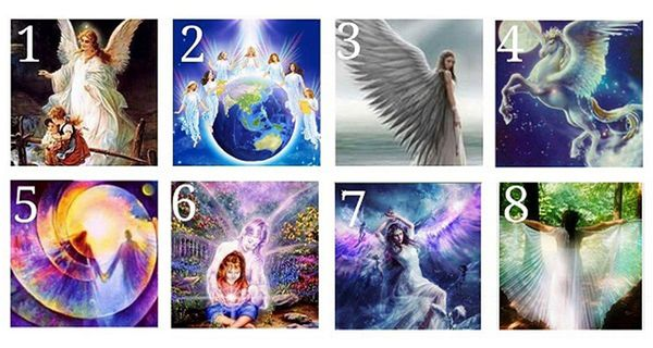 Pick Your Guardian Angel To Receive A Holy Message