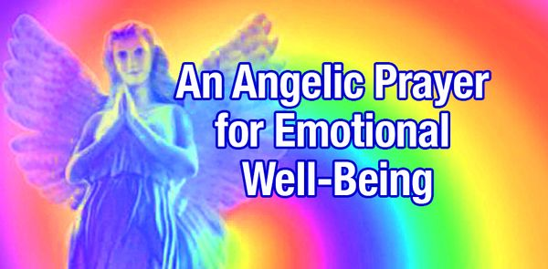 An Angelic Prayer for Emotional Well-Being