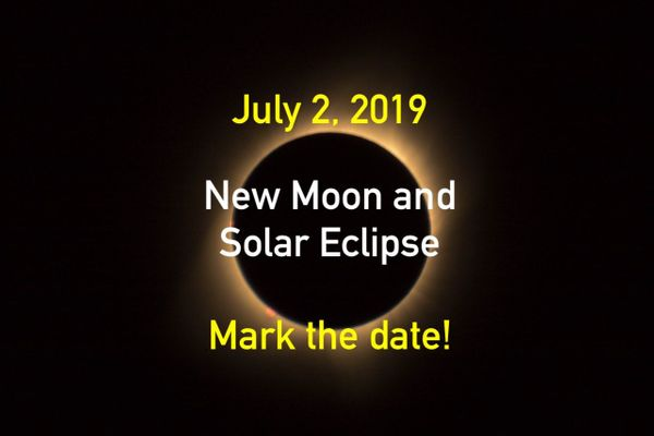 New Moon & Solar Eclipse July 2, 2019