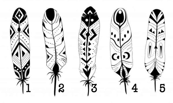 Pick A Feather, What It Says About Your Personality Will Surprise You