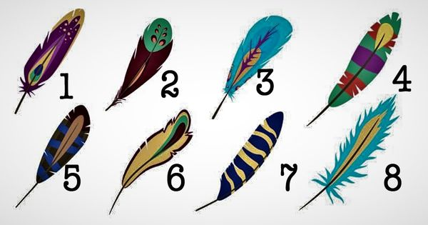 Pick a Feather and We will Reveal What you Truly Seek and Desire
