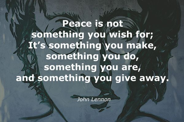 15 Quotes on Love, Life and Peace by John Lennon