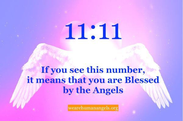 11:11 and The Blessings of Angel Numbers