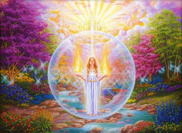 Calling Upon The White Light For Protection And Guidance