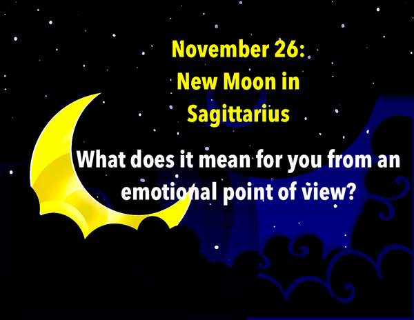 New Moon in Sagittarius on November 26: What does it mean for you?