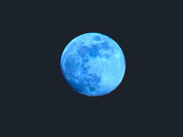 Halloween  Full Blue Moon October 31: A Once in a Lifetime Event!